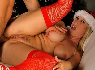 anal around the xmas tree