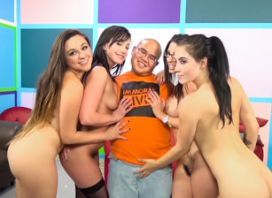 Lucky Virgin Finally Loses His V Card!