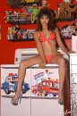 Red With White Polka Dot Bikini Toy Room picture 11