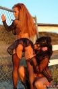 Sunny Gets Some Lesbian Action In The Desert picture 23