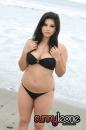 Black Bikini Beach Shore picture 9